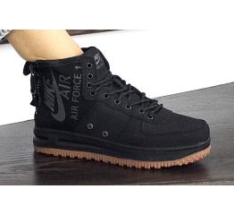 Купить Жіночі високі кросівки Nike SF Air Force 1 Mid чорні