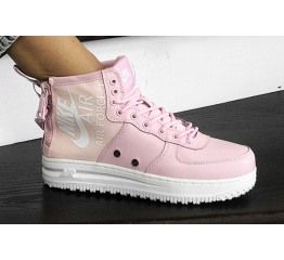 Купить Женские высокие кроссовки Nike SF Air Force 1 Mid розовые