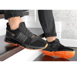 Купить Чоловічі кросівки Adidas ADV EQT чорні з помаранчевим в Украине