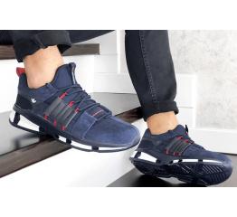 Купить Чоловічі кросівки Adidas ADV EQT темно-сині в Украине