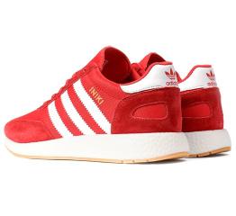 Купить Чоловічі кросівки Adidas Iniki Runner червоні в Украине