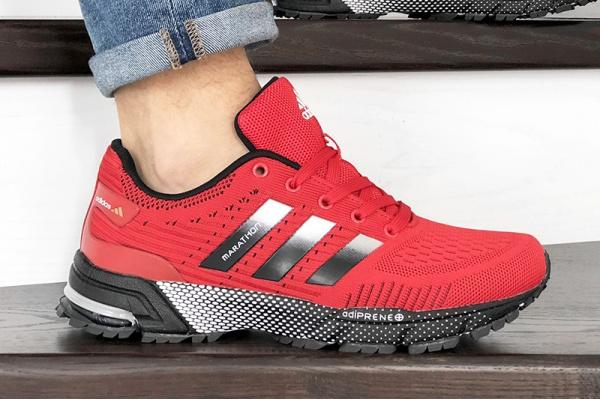 Мужские кроссовки Adidas Marathon TR красные