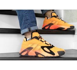 Купить Мужские кроссовки Adidas Streetball оранжевые