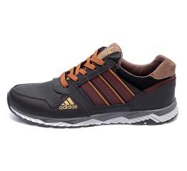 Купить Чоловічі кросівки Adidas темно-коричневі