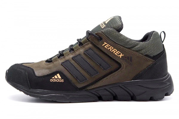 Мужские кроссовки Adidas Terrex хаки