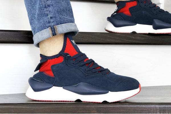 Мужские кроссовки Adidas Y-3 Kaiwa синие