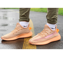 Мужские кроссовки Adidas Yeezy Boost 350 V2 оранжевые