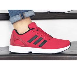 Купить Мужские кроссовки Adidas ZX Flux красные в Украине