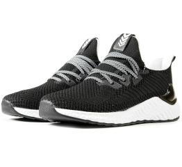 Мужские кроссовки BaaS черные с белым