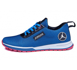 Мужские кроссовки Jordan голубые