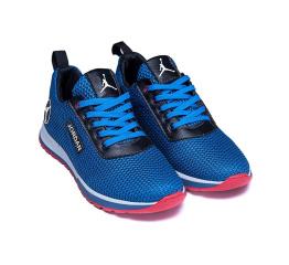 Купить Чоловічі кросівки Jordan блакитні в Украине