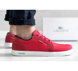 Купить Мужские кроссовки Lacoste Europe красные
