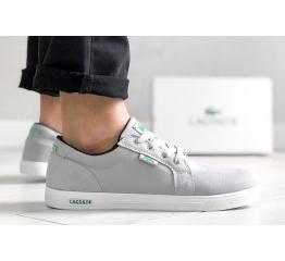 Купить Мужские кроссовки Lacoste Europe светло-серые