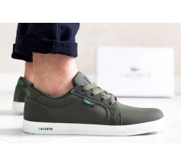 Купить Мужские кроссовки Lacoste Europe зеленые