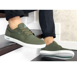 Купить Мужские кроссовки Lacoste Europe зеленые в Украине
