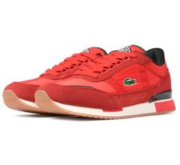 Купить Мужские кроссовки Lacoste Partner Retro 120 красные