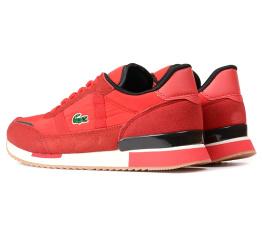 Купить Мужские кроссовки Lacoste Partner Retro 120 красные в Украине
