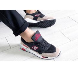 Купить Мужские кроссовки New Balance 1500 бежевые с черным в Украине