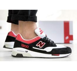 Купить Чоловічі кросівки New Balance 1500 чорні з червоним и белым