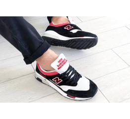 Мужские кроссовки New Balance 1500 черные с красным и белым