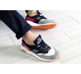 Купить Чоловічі кросівки New Balance 1500 чорні з сірим и красным в Украине