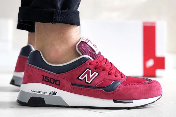 Мужские кроссовки New Balance 1500 Real Ale Pack красные