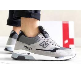 Купить Чоловічі кросівки New Balance 1500 сірі