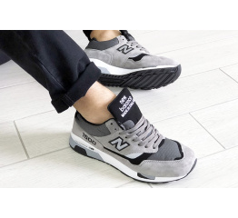 Купить Чоловічі кросівки New Balance 1500 сірі в Украине