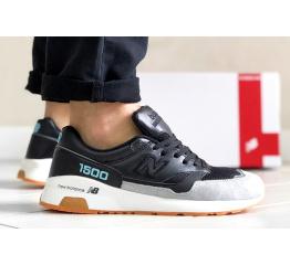 Купить Мужские кроссовки New Balance 1500 серые с черным