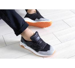 Купить Чоловічі кросівки New Balance 1500 сірі з чорним в Украине