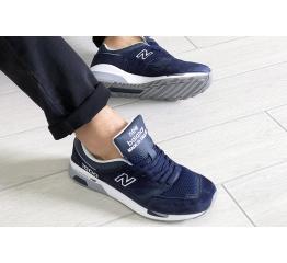 Купить Чоловічі кросівки New Balance 1500 сині з білим в Украине