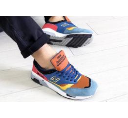Купить Чоловічі кросівки New Balance 1500 сині з коричневим в Украине