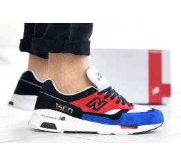 Купить Чоловічі кросівки New Balance 1500 сині з червоним и черынм