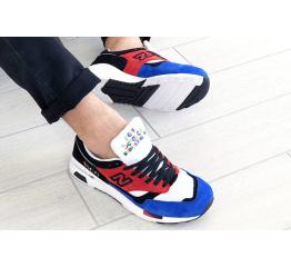 Мужские кроссовки New Balance 1500 синие с красным и черынм