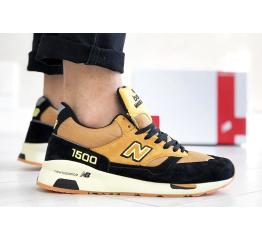 Купить Чоловічі кросівки New Balance 1500 светло-коричневі з чорним