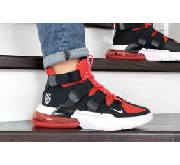 Купить Чоловічі кросівки Nike Air Edge 270 чорні з червоним