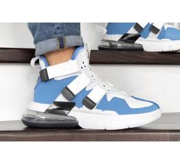 Мужские кроссовки Nike Air Edge 270 голубые с белым