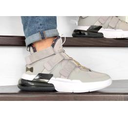 Купить Чоловічі кросівки Nike Air Edge 270 сірі з білим