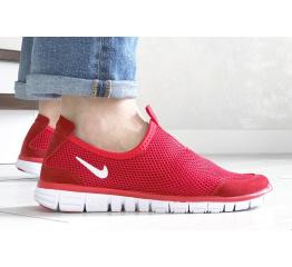 Купить Мужские кроссовки Nike Air Free Run 3.0 Slip-On красные