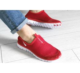 Купить Мужские кроссовки Nike Air Free Run 3.0 Slip-On красные в Украине