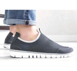 Купить Мужские кроссовки Nike Air Free Run 3.0 Slip-On серые