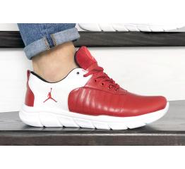 Купить Мужские кроссовки Nike Air Jordan красные с белым в Украине