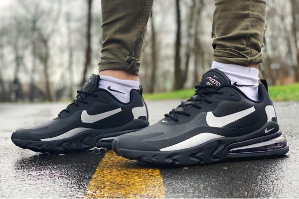 Мужские кроссовки Nike Air Max 270 React черные