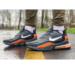Мужские кроссовки Nike Air Max 270 React серые