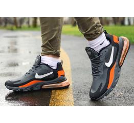 Купить Чоловічі кросівки Nike Air Max 270 React сірі в Украине