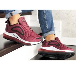 Купить Мужские кроссовки Nike Air Max 720 бордовые в Украине