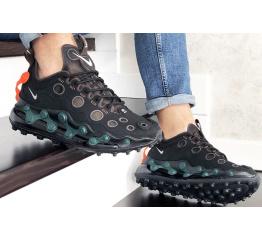 Купить Мужские кроссовки Nike Air Max 720 ISPA черные с зеленым в Украине