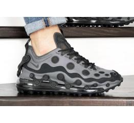 Купить Мужские кроссовки Nike Air Max 720 ISPA серые с черным