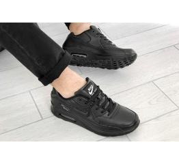 Купить Чоловічі кросівки Nike Air Max 90 чорні в Украине