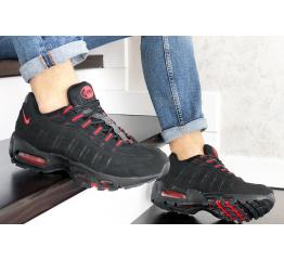 Купить Мужские кроссовки Nike Air Max 95 OG черные с красным в Украине